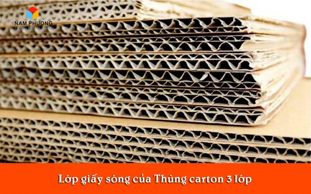 lop giay song thung carton 3 lop