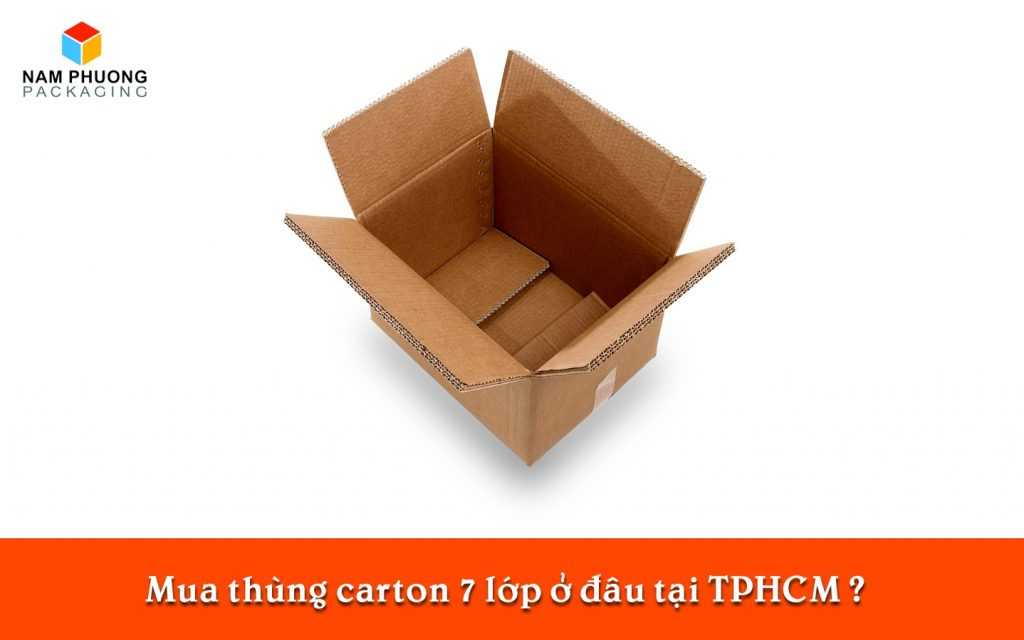 Mua thùng carton 7 lớp ở đâu tại TPHCM