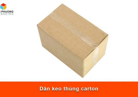 Dán keo thùng carton