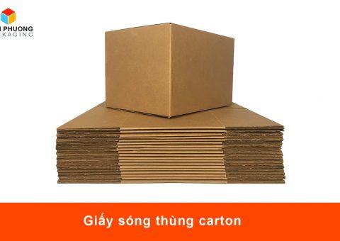 Giấy sóng thùng carton