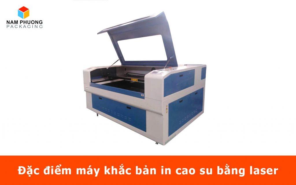 Đặc điểm máy khắc bản in cao su bằng laser