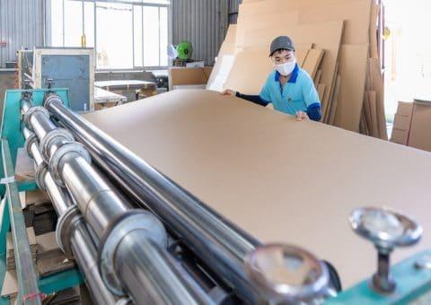 Bao bì giấy được sản xuất với nguyên liệu chất lượng